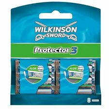 Wilkinson Sword Protector 3 Blades - Pack of 8 Blades VALUE PACK OF 16 BLADES