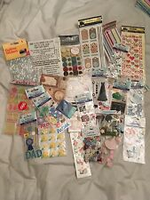HUGE Scrapbooking, Card Making, Craft Lot! 26 New Packets! BARGAIN!!