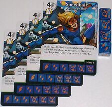 4 X SPEEDBALL PAYING PENANCE 98/142 Civil War Dice Masters
