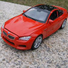 1:32 BMW M6 Sound&Light Alloy Diecast Model Cars Collection&gifts Red Toys New