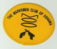 Marksmen Club Oshawa HTF Vintage Ontario, Canada Fish & Game Gun Shooting Patch