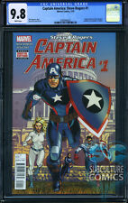 CAPTAIN AMERICA STEVE ROGERS #1 - CGC 9.8 - SOLD OUT - FIRST PRINT - RELAUNCH