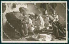 Nuoro Desulo Costumi Foto cartolina QT2436