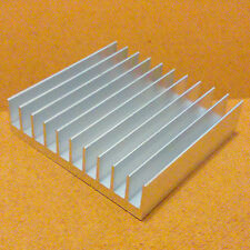 4 inch Heat Sink Aluminum (4.0 x 4.23 x 1.05) inches. Low Thermal Resistance.