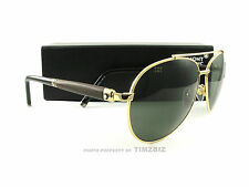 New Mont Blanc Sunglasses MB518/S Gold Wood 30N Authentic