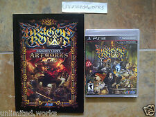 Dragon's Crown with Pre-order Bonus Art Book Sony PlayStation 3 Brand New Sealed