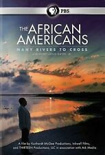 African Americans: Many Rivers to Cross New DVD! Ships Fast!