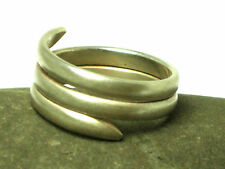 Unisex  STERLING  SILVER  925   RING / BAND  -   Size  S / 9  -  Gift Boxed!