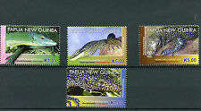 Papua New Guinea 2011 MNH Monitor Lizards 4v Set Reptiles