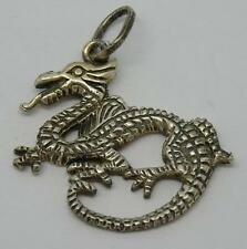 ***LOVELY STERLING SILVER DRAGON PENDANT/CHARM-2.6G***