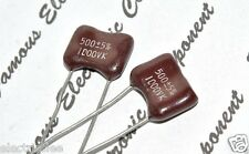 1pcs - CDE 500P (500pF) 1000V 5% Silvered Mica Capacitor - Cornell Dubilier