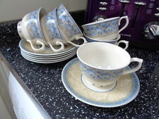 CHURCHILL PORTS OF CALL PRAGUE  CUPS AND SAUCERS X 6