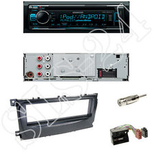 Kenwood KDC-300UV USB/CD Autoradio + Ford C-Max ab07 + Blende + Quadlock Adapter