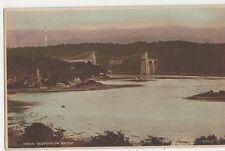 Menai Suspension Bridge Postcard, B390