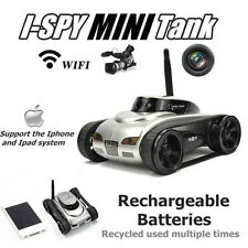777-270 WiFi i-spy Tank Car Toy Camera Remote Control Video By Iphone Android B