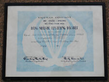 Ian Sutherland's ARVN Airborne Certificate, Special Forces, SF