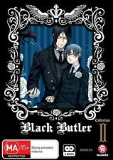 Black Butler (Kuroshitsuji) Collection 2 (Eps 13-24) NEW R4 DVD