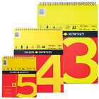 A3 DALER ROWNEY SPIRAL BOUND 150gm CARTRIDGE PAPER ARTIST SKETCH BOOK ART PAD