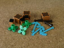 Lego City Minecraft  15 x Minecraft accessories craft table blue axe   NEW