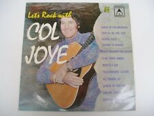 LETS ROCK WITH COL JOYE - Scarce OZ LP