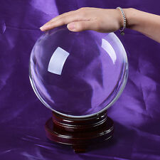 200mm Large Crystal Ball Gazing Sphere Show Stone Scrying Pool Venue Decorations