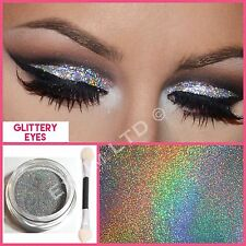Make Up Eye Shadow Glitter Silver Holograph Sparkling Dust Body Face Nail Party