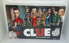 NEW THE BIG BANG THEORY CLASSIC CLUE BOARD GAME HASBRO