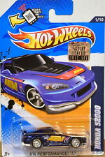 HOT WHEELS 2012 SUPER TREASURE HUNTS HONDA S2000 #1/10 BLUE FACTORY SEALED