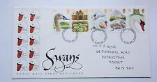 GREAT BRITAIN FIRST DAY COVER SWANS 1993