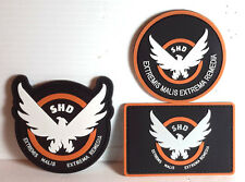 The Division Game SHD Triangle Logo PVC  Patch Set of 3 (DVPA-S01)