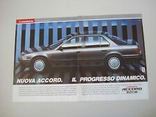 advertising Pubblicità 1990 HONDA ACCORD