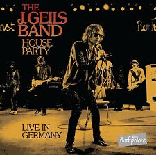 J.GEILS BAND - HOUSE PARTY-LIVE IN GERMANY  DVD + CD NEU