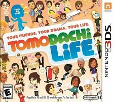 NEW Tomodachi Life (Nintendo 3DS 2014)