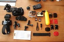 Go Pro Hero 4 Black Edition + 2x32gb Memory Card and various accessories