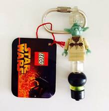 "LEGO 3804 KEY CHAIN STAR WARS REVENGE OF THE SITH "" YODA  "" - RETIRED (RARE)"