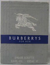BURBERRYS FOR MEN 3.4 OZ /100 ML SPLASH CLASSIC VINTAGE