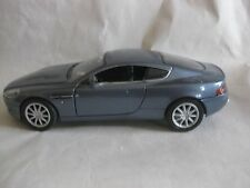Aston Martin DB9 In A Blue 124 Scale Diecast Doors & Hood Open By MotorMax dc459