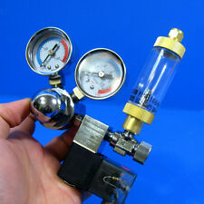 Aquarium CO2 Solenoid Regulator + Bubble Counter & Check Valve- Plants Fish Tank