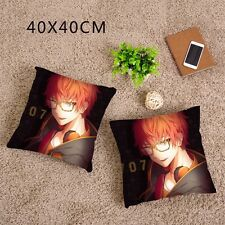 Game Mystic Messenger 707 Luciel Choi Dakimakura Cushion Pillow Case 2WT 40x40cm