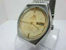 ORIENT CRYSTAL VINTAGE AUTOMATIC WATCH Ref. 469JD3-80 CA