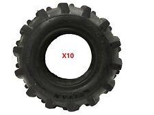 """Lot of TEN 4.10-6 AG Tires 12-1/2"""" 90/90-6 Go Cart Tiller Snow Blower Mini Bike"""