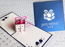 3D Pop Up Card - Greeting Card - 006 - HAPPY BIRTHDAY - High Quality