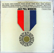 Jazz Poll Winners 33 rpm LP w/ Booklet Columbia 6 Eye 1961  VG++ NICE!