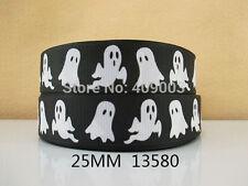 """Halloween/ghost Cinta 1 """"de ancho 1m es sólo £ 0.99 Nuevo vendedor de Reino Unido"""