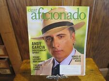 Cigar Aficionado Magazine Andy Garcia April 2014