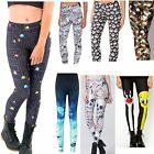 3D Graphic Printed Women Yoga Gym Pencil Pants Punk Stretchy Leggings PLUS SIZE