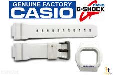 CASIO G-Shock G-5600A-7D Original White BAND & BEZEL Combo