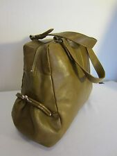 LATICO LEATHER Large Mustard Brown Smooth LEATHER Doctor's Bag Purse