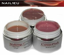 Camouflage Gel Set NAIL1EU 3*40ml: Make Up,  Cool Cover, Cover Pink