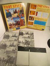 Rare format! fort apache par Impressions, pc game sur disquette 5.25 1992